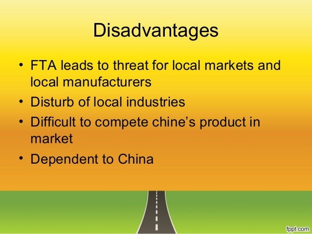 singapore fta disadvantages Bilateral trade arrangements in the asia-pacific (fta), the japan-singapore agreement for new age disadvantages from tradeoffs between political and economic.