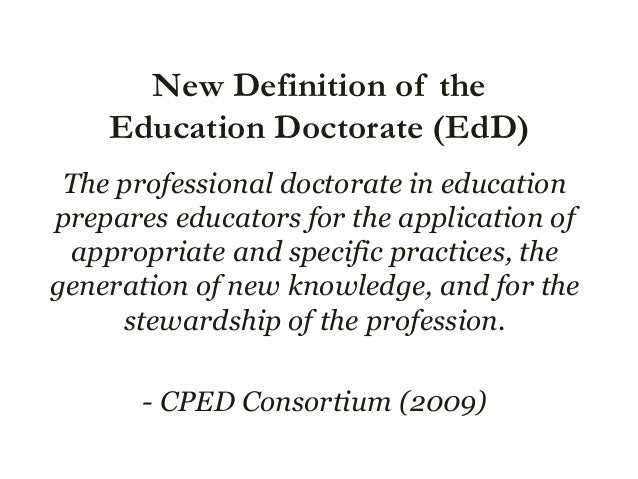 """cped dissertation in practice Grow and enhance what has been a success story in online graduate education developing a """"dissertation in practice"""" in 2007, the carnegie project on the education doctorate (cped) (2015), a consortium of over 25 colleges and schools of education (now more than 80), came together to collaborate on a common vision."""