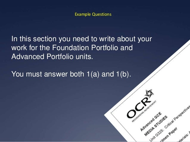 ocr media a2 coursework