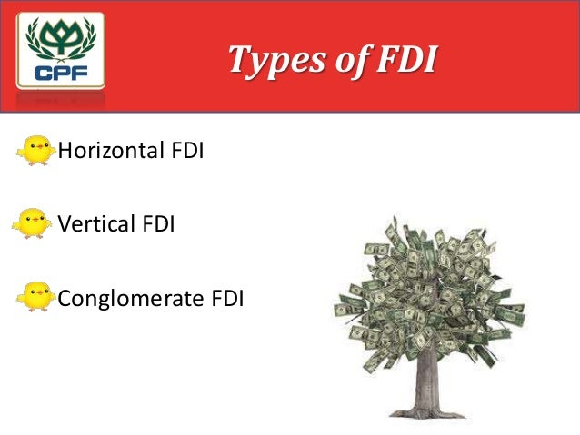 horizontal fdi and vertical fdi (foreign firms producing for export) and horizontal fdi (foreign firms   differentiating horizontal from vertical fdi confirms that taxation is not a critical  factor for.