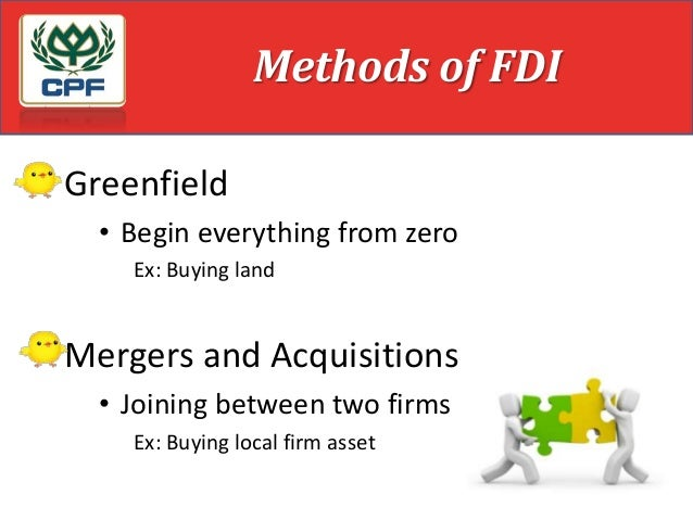 disadvantage of fdi As the world has become more interconnected foreign direct investment (fdi)  has increasingly become a hot topic for new zealand how we connect with the.
