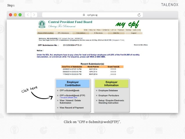 Guide to CPF File Upload for Singapore Payroll Slide 2