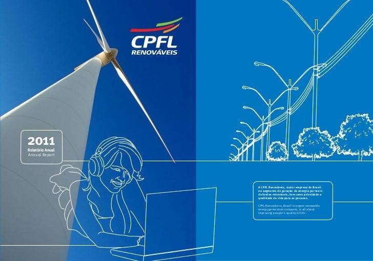 Relatório Anual 2011 Annual Report                                                       2011                             ...