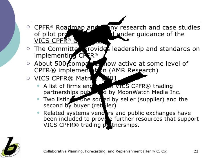 cpfr implementation issues Cpfr is a technique that combines  article/introduction-collaborative-planning-forecasting-and-replenishment  of it implementation in .