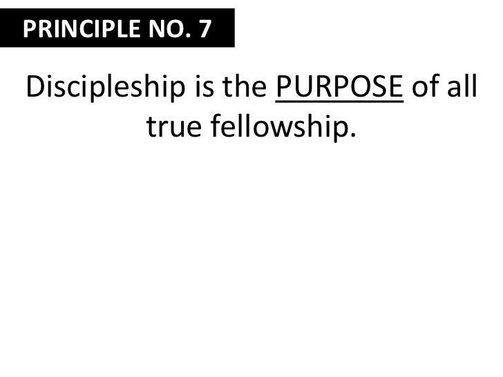 Nudge them toward spiritual formation.</li></li></ul><li>Session Seventeen<br />Ten Theological Principles<br />Part 4<br />