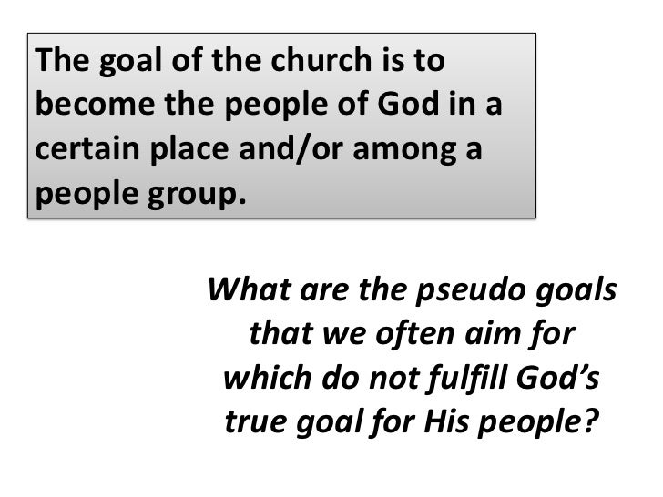 PRINCIPLE NO. 7<br />Discipleship is the purpose of all true fellowship.<br />