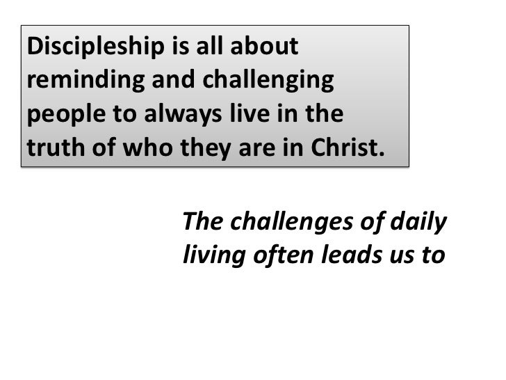 When Christians do not know who they are in Christ, they will forever remain self-centered.<br />Missional thinking begins...