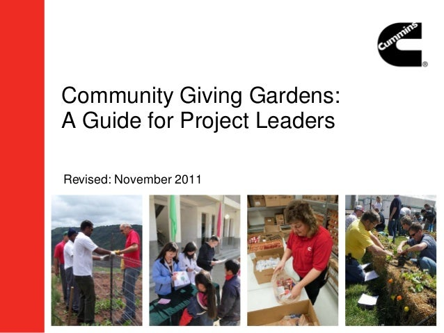 Community Giving Gardens:A Guide for Project LeadersRevised: November 2011