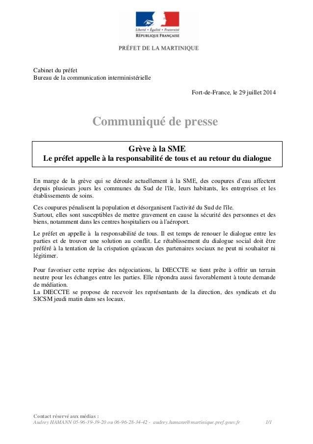 Contact réservé aux médias : Audrey HAMANN 05-96-39-39-20 ou 06-96-28-34-42 - audrey.hamann@martinique.pref.gouv.fr 1/1 Ca...