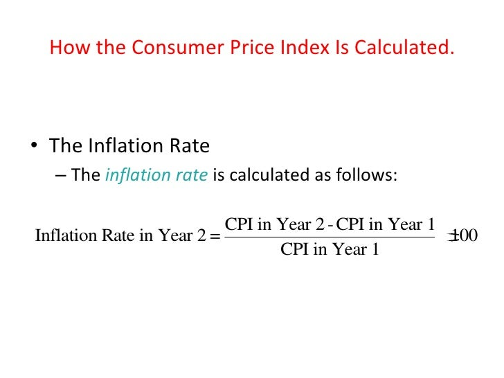 Formula For Cpi Inflation Rate & Oxera - Is the end nigh for RPI?
