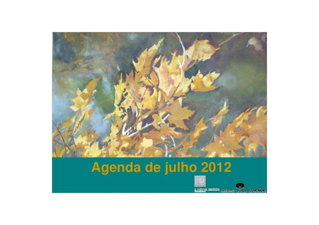 Agenda de julho 2012