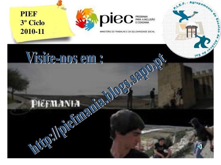 PIEF3º Ciclo2010-11