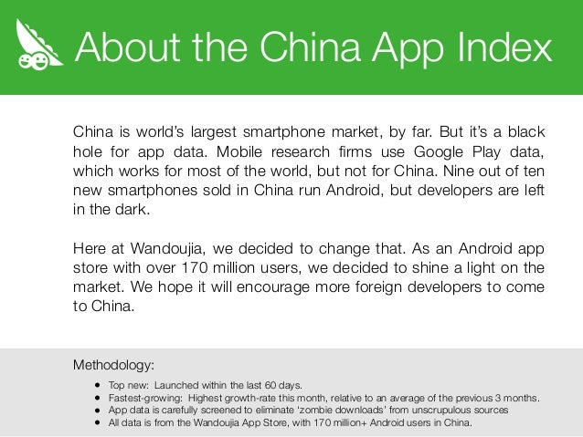 The China App Index: Photo-Sharing via WeChat Sparks Viral