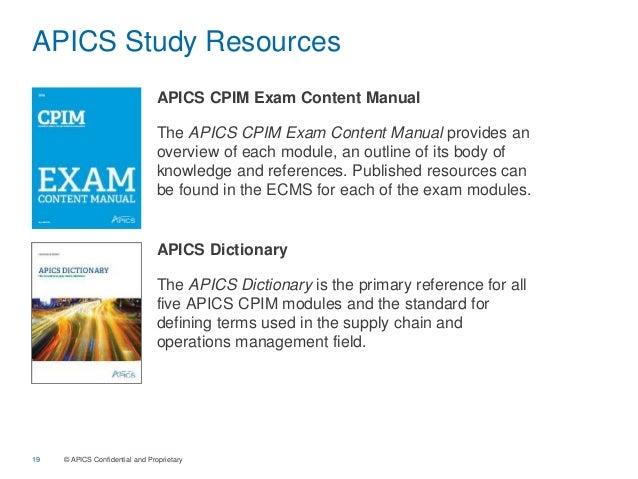 apics cpim demo rh slideshare net apics cpim exam content manual pdf APICS CPIM MPC