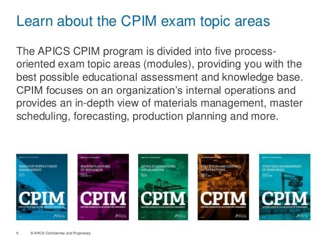 apics cpim demo rh slideshare net APICS CPIM MPC APICS CPIM Exam Schedule