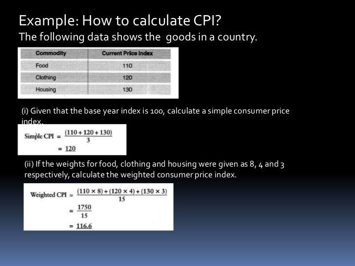 consumer price index assignment Calculation of the cpi, consumer price index assignment help - homework help, wwwtutorsglobecom offers cpi assignment help - consumer price index homework help.