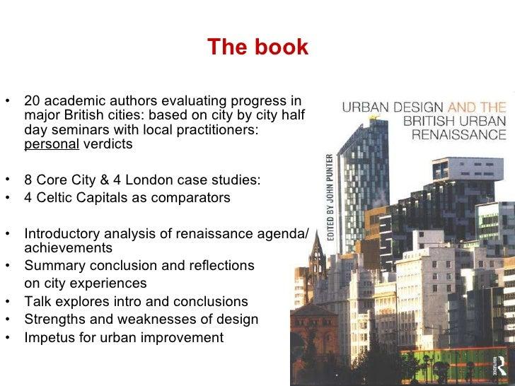 History Urban Form Prehistory Renaissance