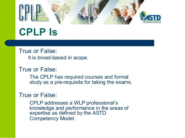 cplp capability credibility confidence competency 3c
