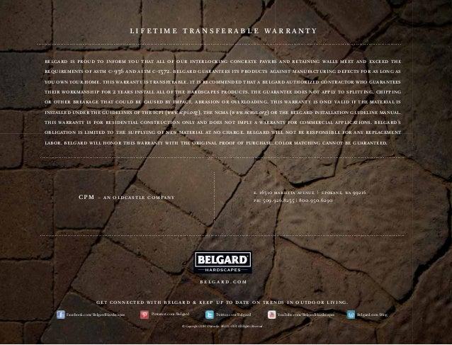 Belgard Product Catalog