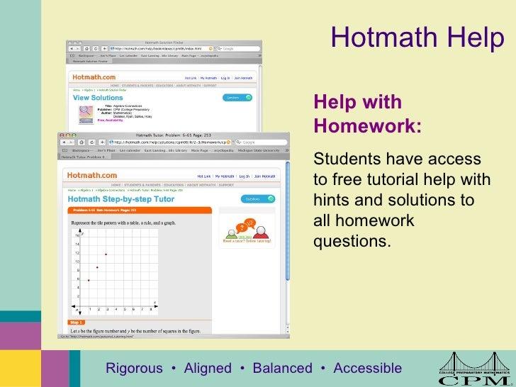 Cpm homework help pre algebra