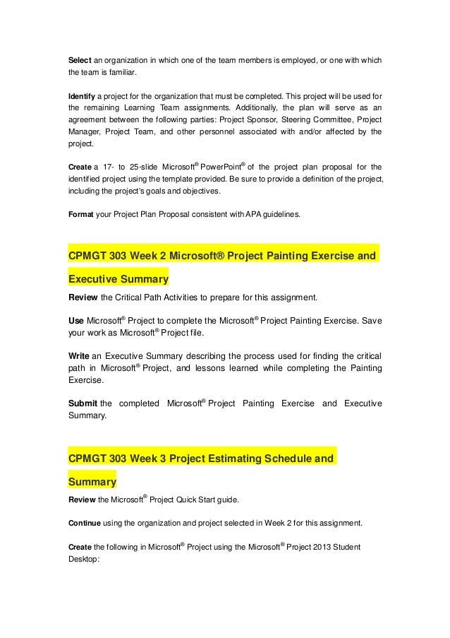 project estimating technique paper cpmgt 303 Project estimating technique paper by: efrain gonzalez jr cpmgt/303 october 6, 2014 chanda sanders this paper describes each of the project estimating techniques by explaining when each technique would be used, and how each technique is used.