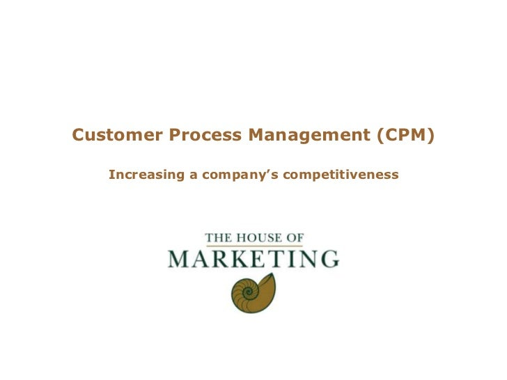 """Logo clientCustomer Process Management (CPM)   Increasing a company""""s competitiveness"""