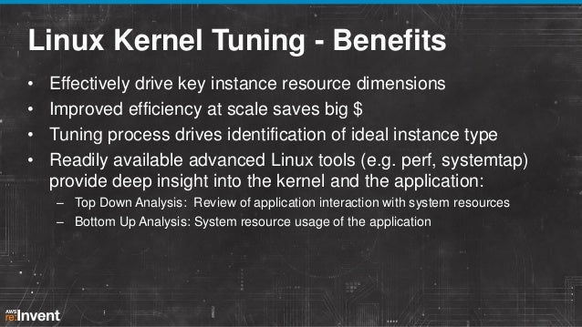 Your Linux AMI: Optimization and Performance (CPN302) | AWS re:Invent…