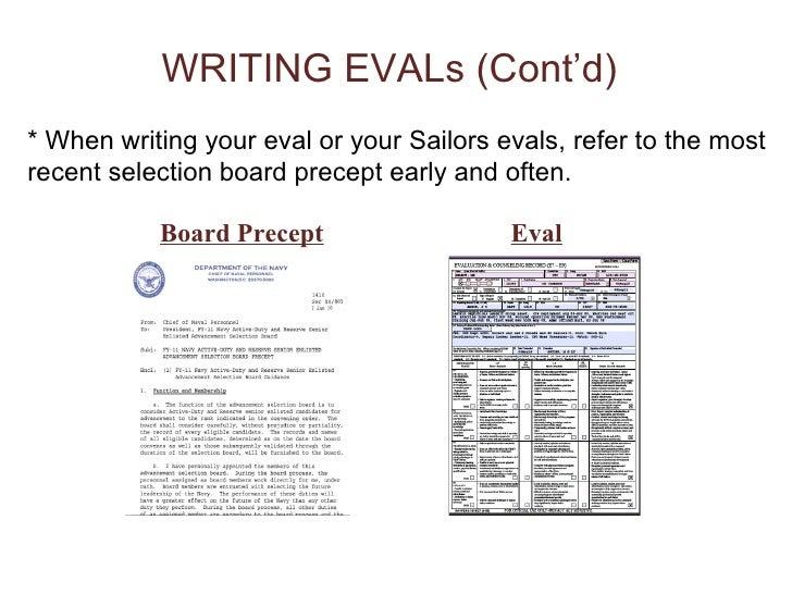 eval write ups