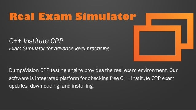 CPP Test prep with real C++ Institute CPP practice exam