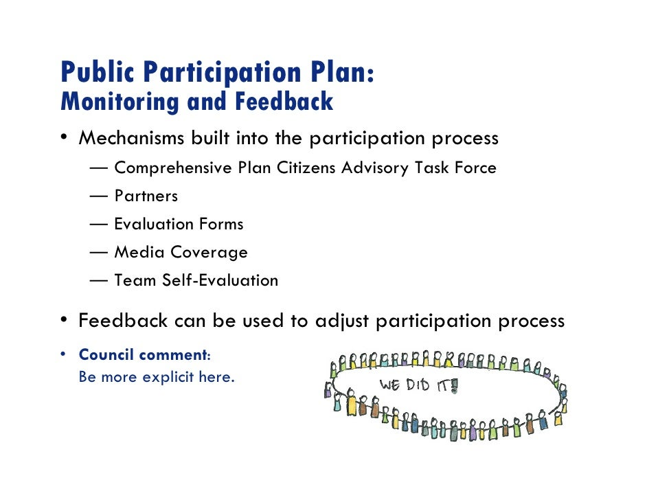 Public Participation Guide: Process Planning