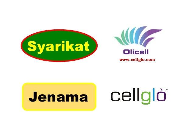 www.cellglo.com Syarikat Jenama