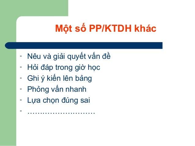 Các bước thực hiện một bài GD KNS Giai đoạn khám khá ( Khởi động/ Giới thiệu bài)  PP/KTDH thường được sử dụng: Động não,...