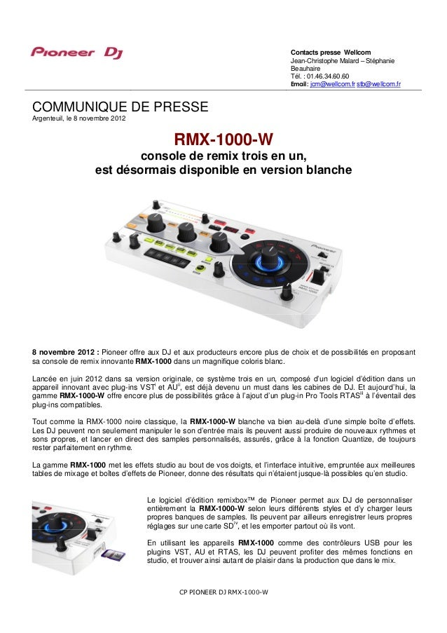 Contacts presse Wellcom                                                                             Jean-Christophe Malard...