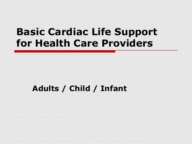 Basic Cardiac Life Support by KSU