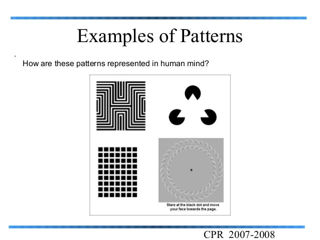 Pattern recognition Interesting Pattern Recognition