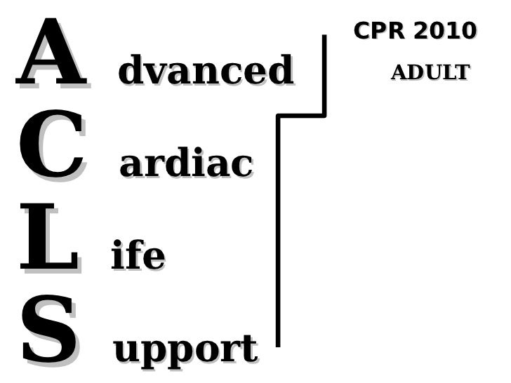 CPR2010 ACLS