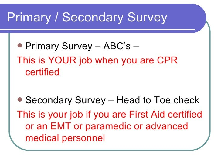 Cpr Aed And First Aid 2005 Aha Guidelines Dec 2010