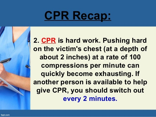 how to give someone cpr