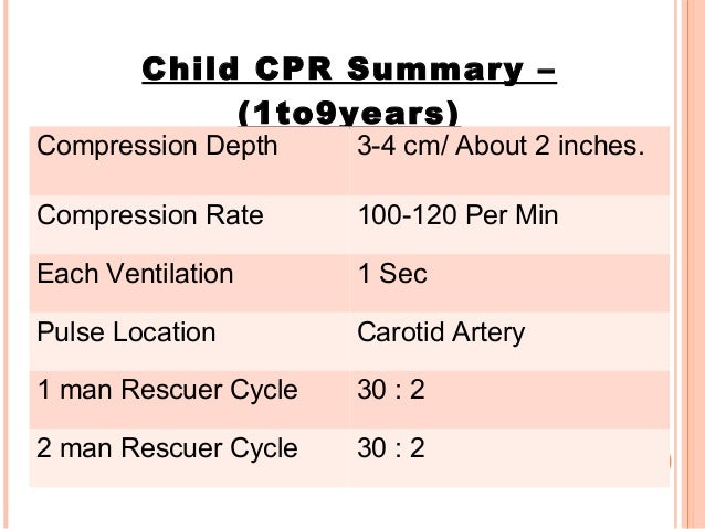 CPR CHEST COMPRESSION ...