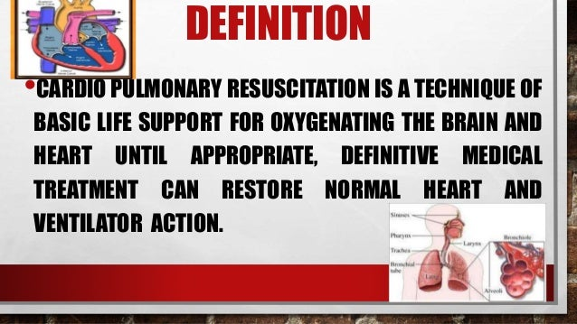a description of cardiopulmonary resuscitation Cpr hltaid001 provide cardio pulmonary resuscitation course description this course is designed to provide participants with the skills and knowledge required to perform the essential lifesaving technique of cardiopulmonary resuscitation (cpr.