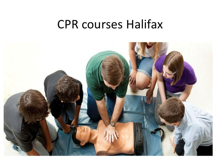 CPR courses Halifax