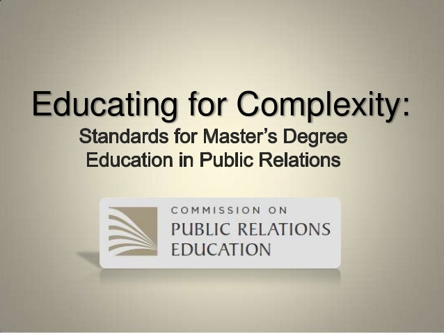Educating for Complexity: