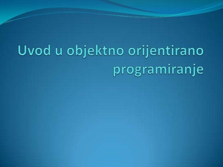 Programske paradigme Programska paradigma je osnovni stil računalnog  programiranja Paradigme se razlikuju u konceptu i ...