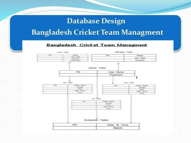 Cricket Management System