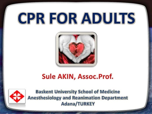 CPR FOR ADULTS 1