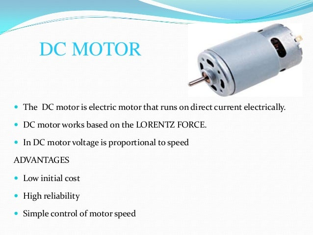 to control the speed of dc motor simple projectdc motor the dc motor is electric motor that runs on direct current electrically