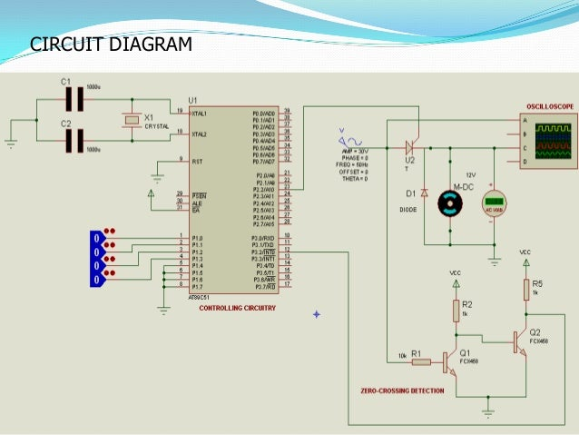 TO control the speed of DC Motor Simple Project