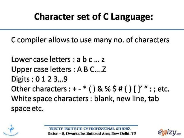 C Programming Features Of C Language