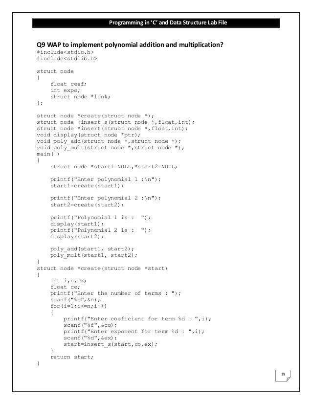 Write a program to traverse a linked list in c