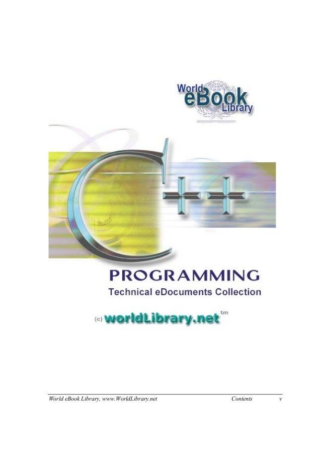 World eBook Library, www.WorldLibrary.net Contents v